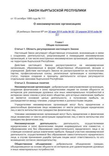 Общественное объединение / фонды